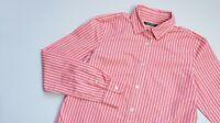 Ralph Lauren Casual shirt women Long Sleeve top size Medium UK 10 EU 38 red