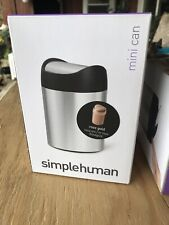 Simplehuman Mini Can 1.5L / 0.4 US Gal Rose Gold
