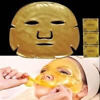 5 X GOLD Premiun Collagen Bio Anti Ageing Wrink Moisture Care Crystal Face Mask