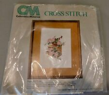 Pack torn/complete Columbia Minerva Cross Stitch Kit 6872 Pepper Mill Picture