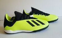 Adidas X Tango 18.3 TF Mens NEW DB2475 Yellow Black Soccer Shoes Mens Size 10