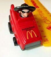WEIRD HAMBURGLAR KLAUS VINTAGE MCDONALDLAND AUSSIE TOY CAR FAST FOOD PREMIUM!!!
