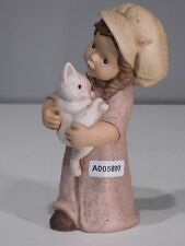+# A005890 Goebel Archiv Muster Limpke Nina & Marco mit weißer Katze Cat 10-888