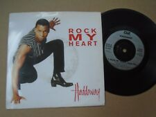 "Haddaway ~ Rock my heart / mix [BMG - 1994] ~ 7""  Sgle"