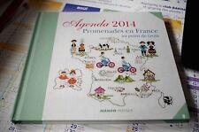 Livre de broderie Agenda 2014 Mango/DMC