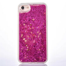 q* Glitter Stars Dynamic Liquid Quicksand Hard Case Cover For iphone 6 6S Plus
