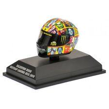 1:8 AGV Minichamps Valentino Rossi Helmet Casco Laguna Seca 2010 VERY RARE NEW