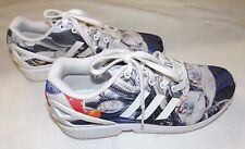 MENS ADIDAS TORSION UK 7½ EUR 41.5 CANVAS LACE UP RUNNING TRAINERS