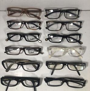 Lot Of 12 Dolce & Gabanna EyeglassesEB
