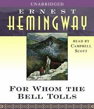 ERNEST HEMINGWAY - FOR WHOM THE BELL TOLLS - 16CD SET READ BY CAMPBELL SCOTT NEW