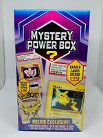 Pokemon Mystery Power Box Meijer Graded Cards 1:25 Vintage Booster Packs 1:10