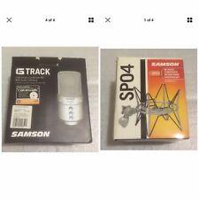 Samson G Track USB Studio Condenser Mic w/ Audio Interface & Shockmount