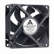 AC 110V 120V 220V 240V Ball Bearing 92mm 92x92x25mm PC Computer Case Cooling Fan