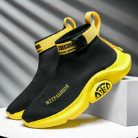 Men's Air Casual Shoes Ultralight Sports Sneaker High Top Athletic Sport Jogging