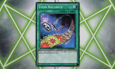 Toon Rollback DRL2-EN024 Super Rare 1st Edition YuGiOh Card NM