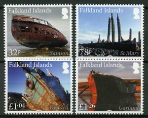 Falkland Islands Ships Stamps 2020 MNH Shipwrecks Wrecks Pt IV Nautical 4v Set