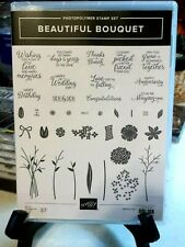 Stampin' Up! Beautiful Bouquet stamp set & Bouquet Bunch New