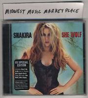 Shakira - She Wolf -Special Ed. CD w/ Bonus Tracks- New & Sealed w/ Hype Sticker