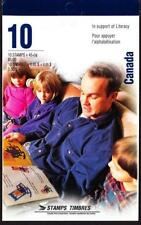 Canada 1996 Booklet #193b Literacy, open flap with T1