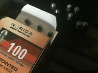Norica PREMIUM Pointed Air Gun Pellets 5.5mm/.22 Cal  Qty 100, Free P & P