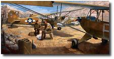 Maytag Messerschmitts by Burt Mader- Piper L-4 - Aviation Art Prints