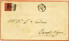 ITALIA - Regno - 1876 - Da Ponte San Pietro/Bg a Bonate Sopra/Bg -  2 cent. ross