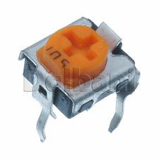 10pcs @$0.8 Variable Resistor Trimpot POT Adjustable 1 Turn Horizontal 500