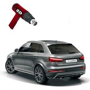 3D-vorgewölbt Tönungsfolie passgenau schwarz 75% Mercedes C-Klasse W205 Kombi
