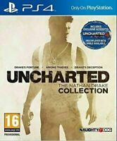 Uncharted The Nathan Drake Collection (Sony PlayStation 4, PS4)