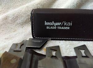 Vintage Kershaw Kai Blade Trader 6 Blade set Hunting, Fishing, Survival, Camping