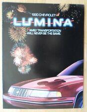 CHEVROLET Lumina 1990 range USA Mkt brochure catalog - Sedan, Coupe APV