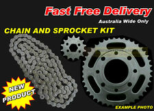 HEAVY DUTY EK '0' RING CHAIN and SPROCKET KIT suit HYOSUNG GT250R 2005 to 2014