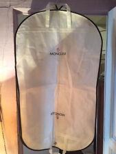 MONCLER lot de 2 housses rangement manteau  / bagage NEUVE + 2 cintres 109cm