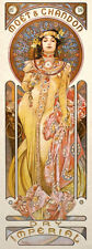Art Nouveau Print Alphonse Mucha Wall Poster Imperial