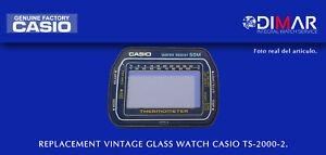 Replacement Original Watch Glass Casio TS-2000-2 NOS
