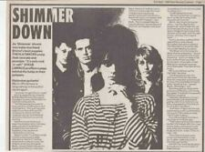 THE FLATMATES : newspaper INTERVIEW ARTICLE - 1988