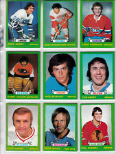 1973-74 OPC COMPLETE SET 1-264 + RINGS + TEAM LOGO