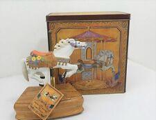 The American Carousel Horse Music Box Figurine