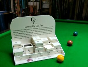 Century cue tip pool snooker cue sports professional single or box 4 G1 G2 G3 G4