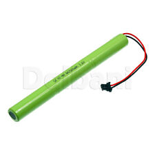 Rechargeable Battery Ni-MH AA with Cable 2 Pin 3.6V 2500mAh
