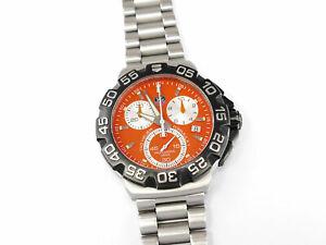 TAG Heuer Formula 1 Chronograph Orange CAH1113 F1 Chrono CAH1113.BA0850 Alonso
