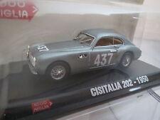 1000 MIGLIA Cisitalia 202 -1950 # 437 1:43, TOP + OVP