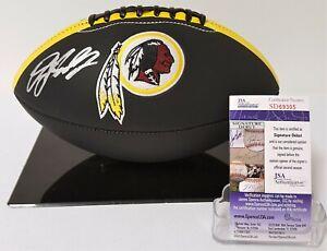 Dwayne Haskins Signed Washington Redskins Black Football JSA SD69305