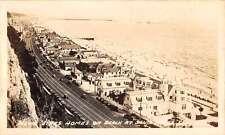 Santa Monica California Movie Star Homes Real Photo Antique Postcard K27379