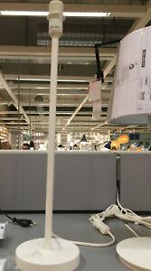 IKEA STRALA Tischleuchtenfuß, weiß A++ Stabiler Leuchtenfuß Lampe Lampen Leuchte