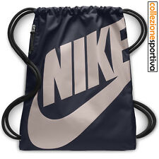 SACCA ZAINO NIKE HERITAGE GYMSACK - BA5351-453 col. obsidian/particle rose