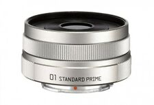 NEW PENTAX 22067 Pentax Q 01 Standard Prime Lens SILVER from JAPAN