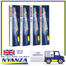 GENUINE BOSCH Glow Plug X 4 GLP066 ALFA ROMEO FIAT OPEL SAAB