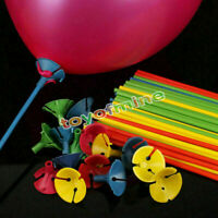 10pcs  Balloon Sticks Plastic Holder Accessories Party Latex Balloon Sticks