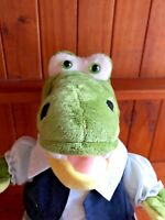 Cute Alligator Plush Toy, Soft & Cuddly,Teddy Mountain, Free Postage.